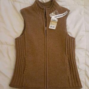 Gander Mountain Reversible vest sz M NWT